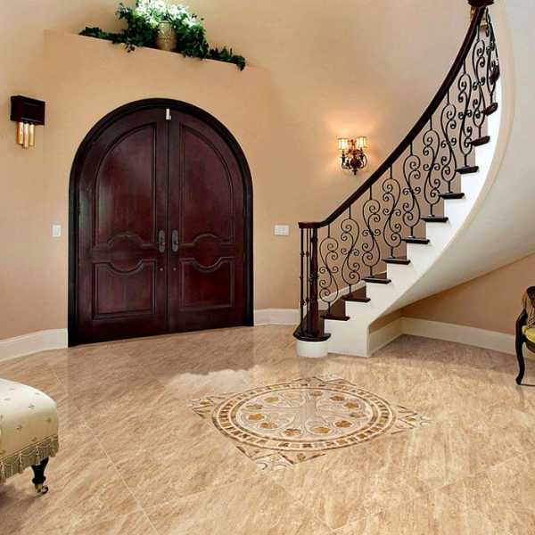 Tiles in the hallway and in the kitchen - ceramic floor tiles for the hallway