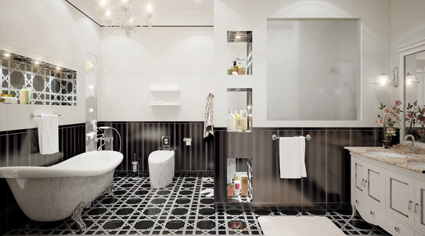 bathroom tiles trends