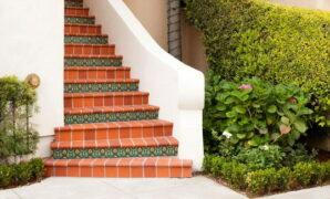Clinker tiles for steps