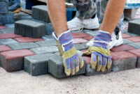 How to Lay paving slabs on sand 11