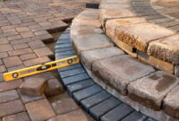 How to Lay paving slabs on sand 16