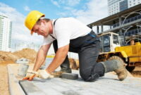 How to Lay paving slabs on sand 17