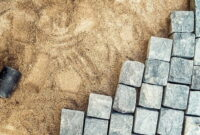 How to Lay paving slabs on sand 6