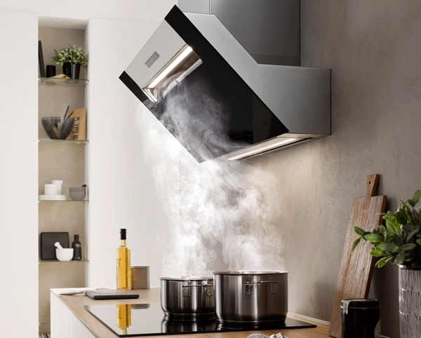 Kitchen hood without venting into the ventilation