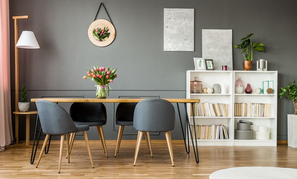 Designing the dining room in a modern way