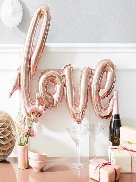 most beautiful ideas for the Valentine's Day decoration 2021