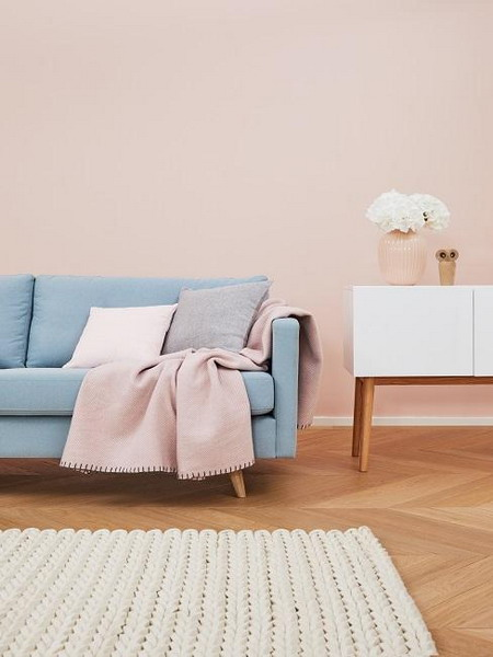 Wall paint in the living room: New trends, ideas and tips