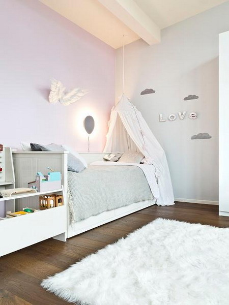 Painting children's room: The most beautiful wall color in the children's room