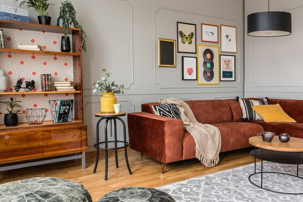The vintage style is celebrating its comeback: This is what the trend interior will look like in 2022