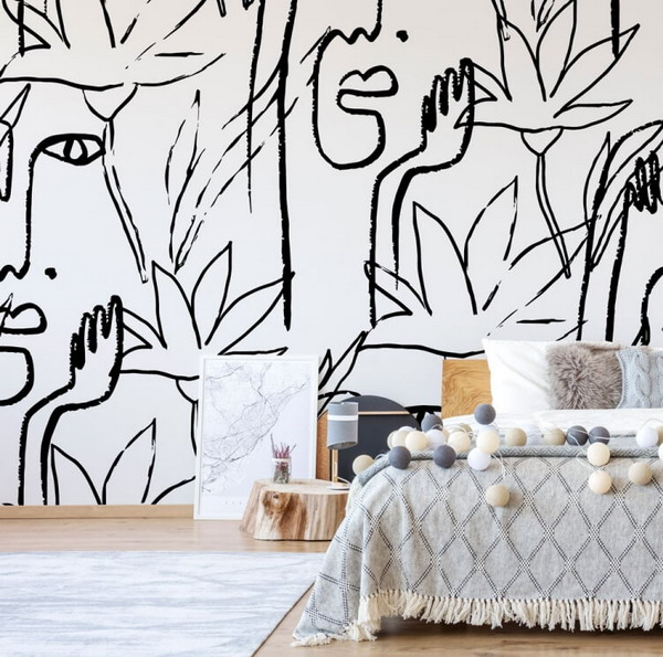 Update your walls and interior with a trendy 2023 tapestry
